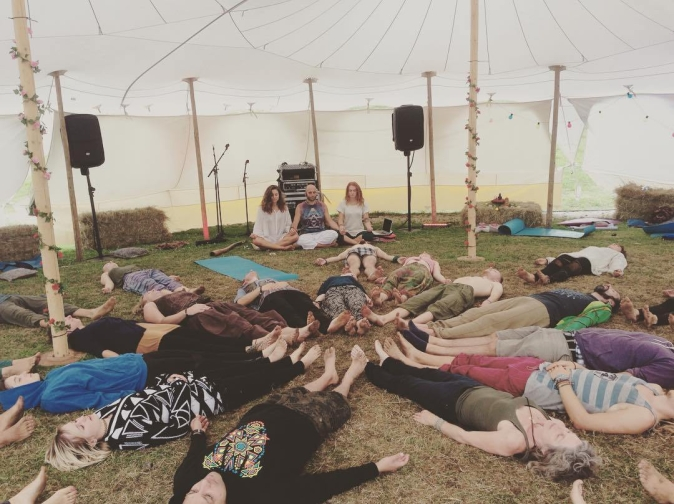 Yoga beats Project at PSY fi festival 2018