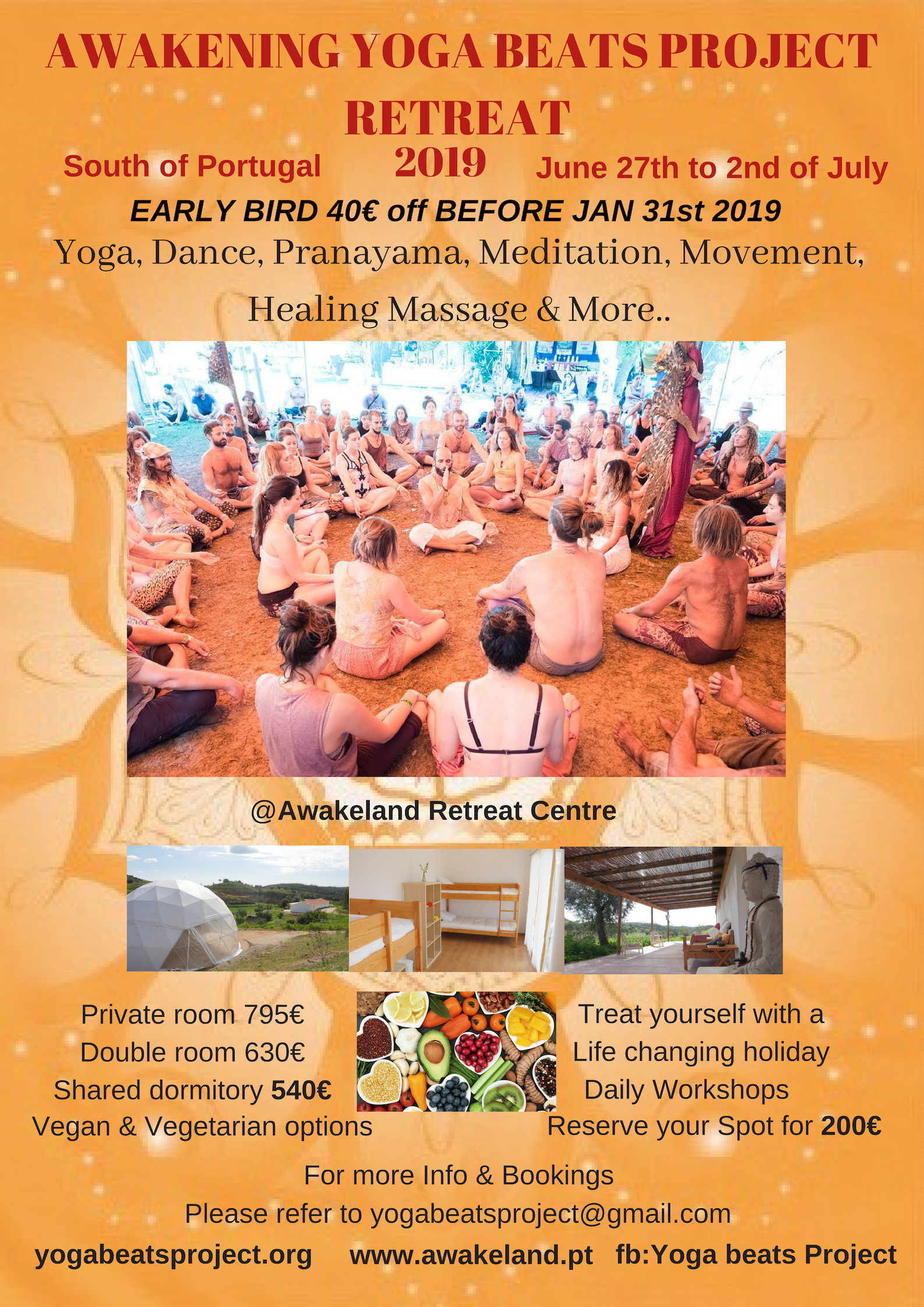 Awakening Yoga beats Project Retreat in Portugal Summer ...